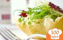 "Фото рецепта: «Салат ""Корзина с цветами""»"