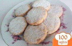 Фото рецепта: «Миндально-овсяное печенье»