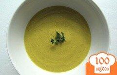 Фото рецепта: «Вегетарианский суп-пюре из брокколи»