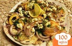 Фото рецепта: «Карпаччо из шампиньонов»