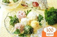 Фото рецепта: «Сырные шарики Ассорти»