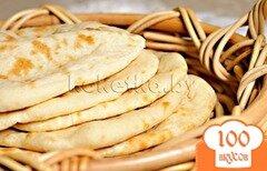 Фото рецепта: «Пшеничная лепешка – наан»