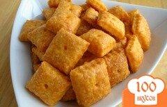 Фото рецепта: «Крекеры с сыром»