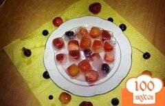 Фото рецепта: «Фруктовые кубики»