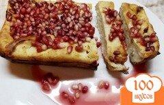Фото рецепта: «Кекс творожный с гранатом»