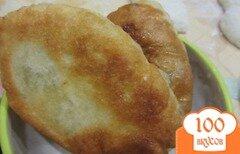 Фото рецепта: «Пирожки из дрожжевого теста с творогом и зеленью»