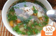 Фото рецепта: «Гречневый суп с куриным филе»