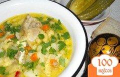 Фото рецепта: «Суп деревенский с курицей»