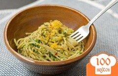 Фото рецепта: «Паста со шпинатом и авокадо»