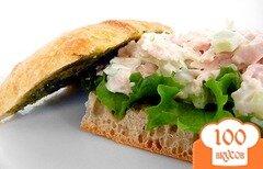 Фото рецепта: «Итальянский сэндвич с куриным салатом»