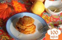 Фото рецепта: «Тыквенно-яблочные оладьи»