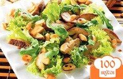 Фото рецепта: «Салат с белыми грибами»