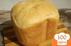 Фото рецепта: «Хлеб на молоке с кунжутом»