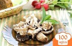 Фото рецепта: «Шампиньоны на мангале»