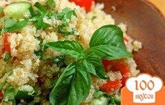 Фото рецепта: «Салат из киноа с овощами»