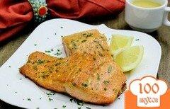 Фото рецепта: «Стейк из семги на сковороде»