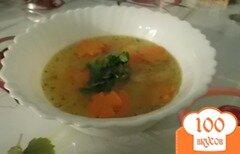 Фото рецепта: «Суп из кролика с болгарским перцем»