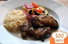 Фото рецепта: «Куриные окорочка на гриле»