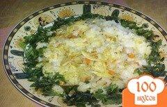 Фото рецепта: «Жареный рис с овощами по-китайски»