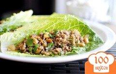Фото рецепта: «Фарш индейки в имбирном соусе»