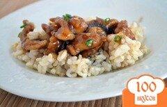 Фото рецепта: «Курица в имбирно-чесночном соусе»