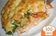 Фото рецепта: «Запеканка из овощей и куриного фарша»