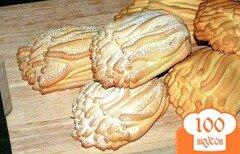 Фото рецепта: «Печенье песочное через мясорубку»
