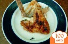 Фото рецепта: «Курица на мангале, маринованная в минеральной воде»