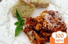Фото рецепта: «Лазанья в винном соусе»