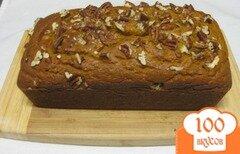Фото рецепта: «Тыквенный хлеб с пеканом»