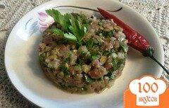 Фото рецепта: «Бифштекс по - татарски»