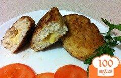Фото рецепта: «Котлеты с грибами и сыром»