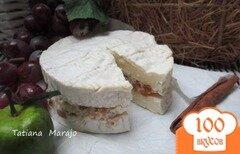 Фото рецепта: «Камомбер с прослойкой из инжира»