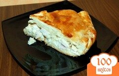 Фото рецепта: «Слоеный пирог с индейкой»