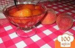 """Фото рецепта: «Варенье из персиков """"Праздник лета""""»"""