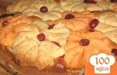 """Фото рецепта: «Пирог """"Букет моей бабушки""""»"""