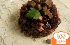 Фото рецепта: «Салат из морской капусты и свеклы»