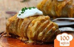 Фото рецепта: «Запеченный картофель с сыром»
