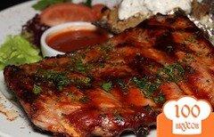 Фото рецепта: «Свиные ребрышки на мангале»