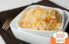 Фото рецепта: «Рис с имбирем и луком»