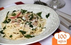 Фото рецепта: «Спагетти с бальзамическим уксусом. Spaghetti all'aceto balsamico»