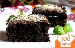 Фото рецепта: «Свекольные брауни с черносливом»
