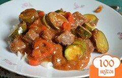 Фото рецепта: «Тушеная говядина Сан-Антонио»