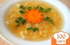 """Фото рецепта: «Суп """"Паутинка""""»"""