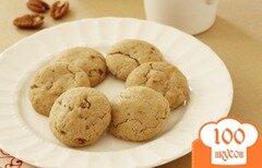 Фото рецепта: «Овсяное печенье с орехами Пекан»