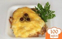 Фото рецепта: «Курица по-французски с грибами»