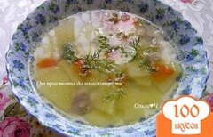 Фото рецепта: «Суп с курицей в мультиварке»
