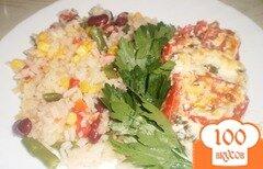 Фото рецепта: «Мясо под помидорами»