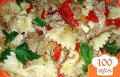 Фото рецепта: «Макароны с отварным мясом»