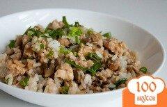 Фото рецепта: «Рис с вешенками»